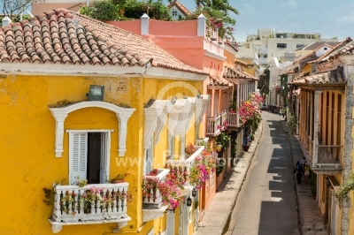 Balcones de Cartagena, Colombia
